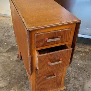 Auction Thumbnail for: Lot # 304 Vintage Work Table