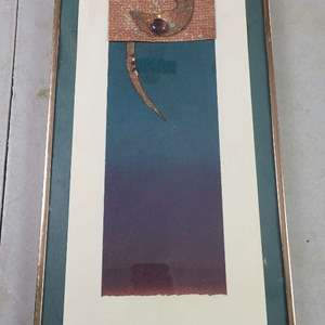 Auction Thumbnail for: Lot # 214 Pretty Abstract Art-Signed-2 of 4