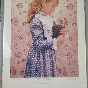 """Auction Thumbnail for: Lot # 258 Pretty """"In My Heart"""" Signed & Numbered Print"""