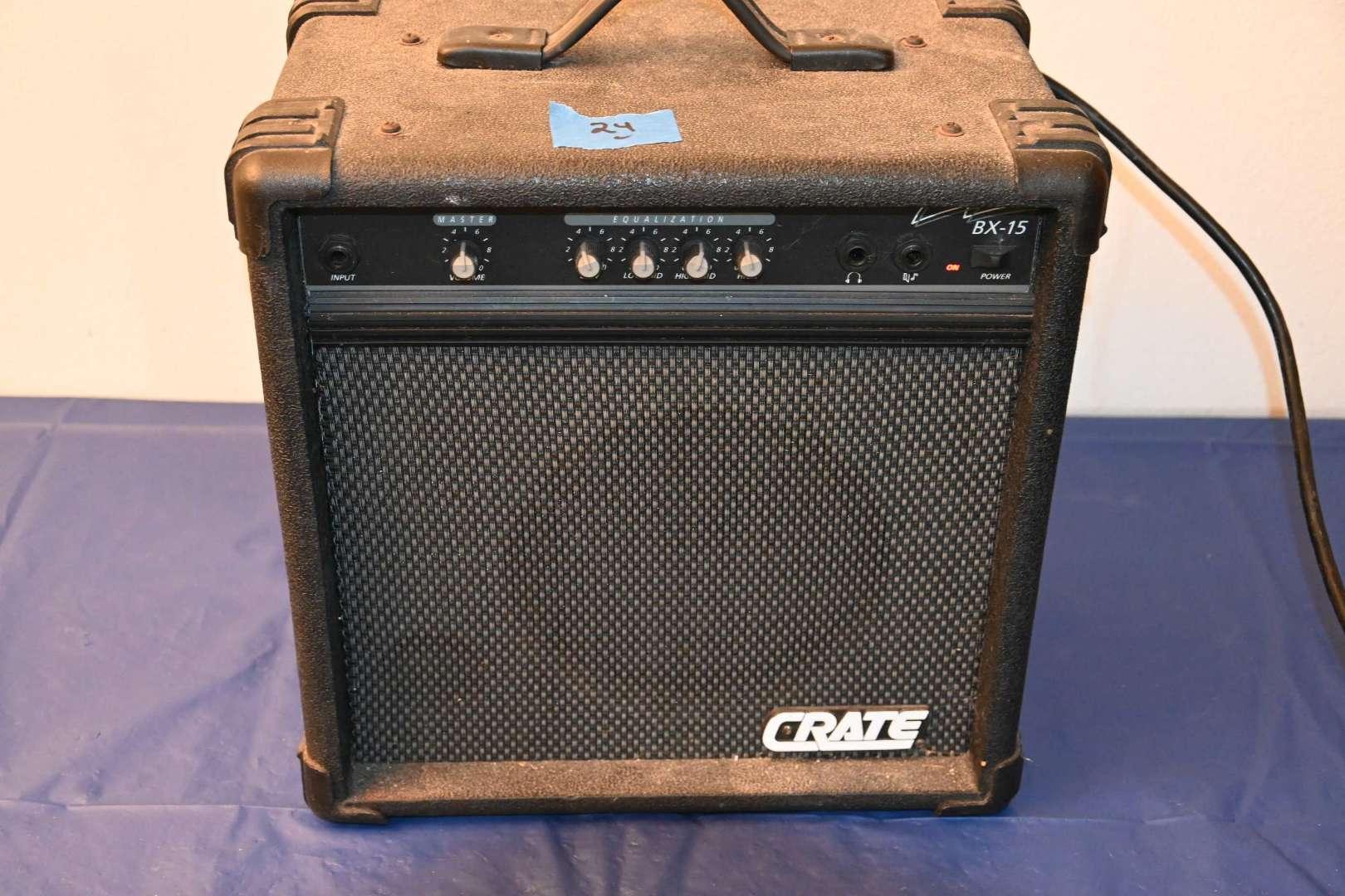 Lot # 24 CRATE BX-15 USA guitar amp