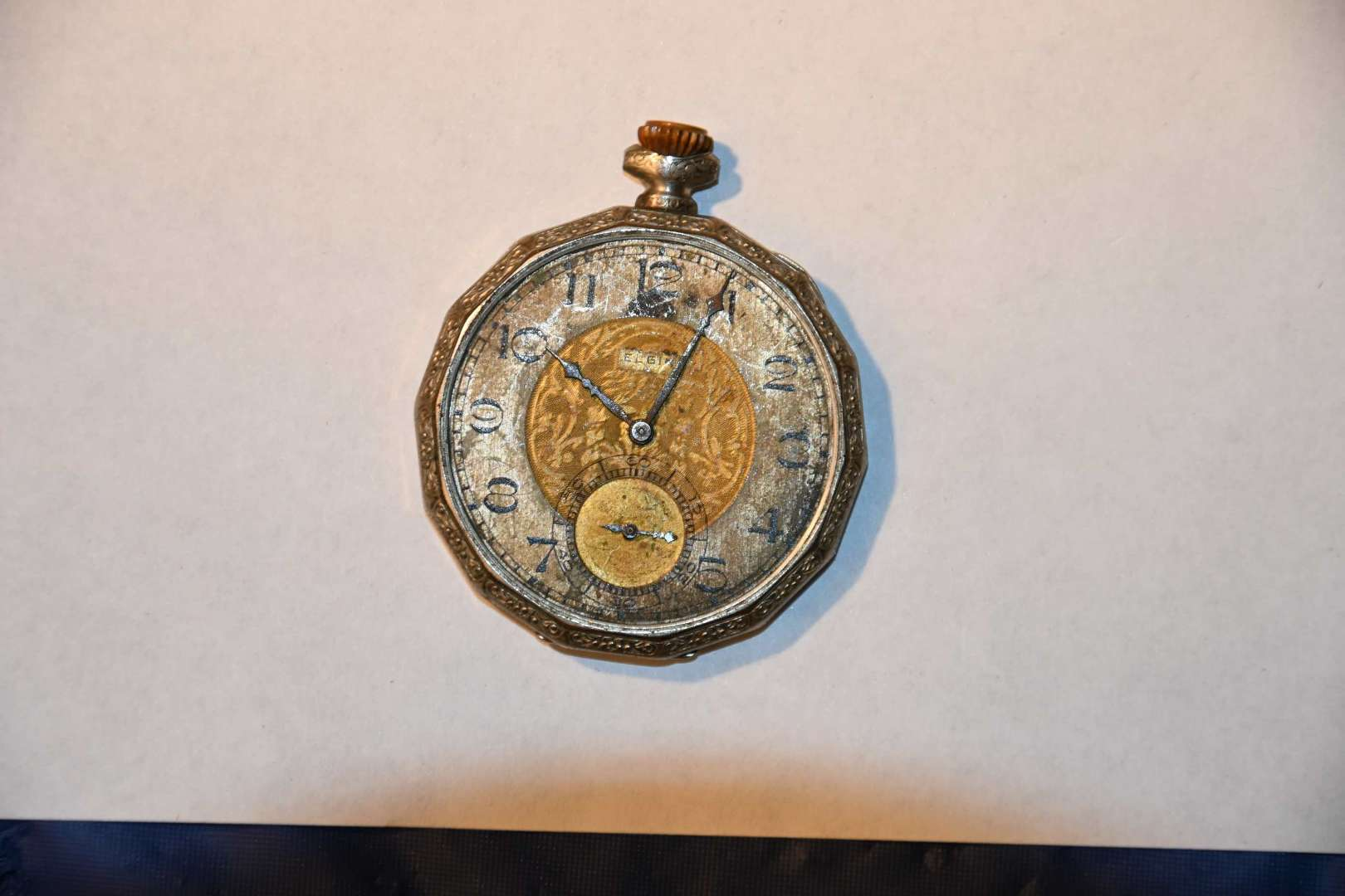 Lot # 57 ELGIN pocketwatch with subsecond hand