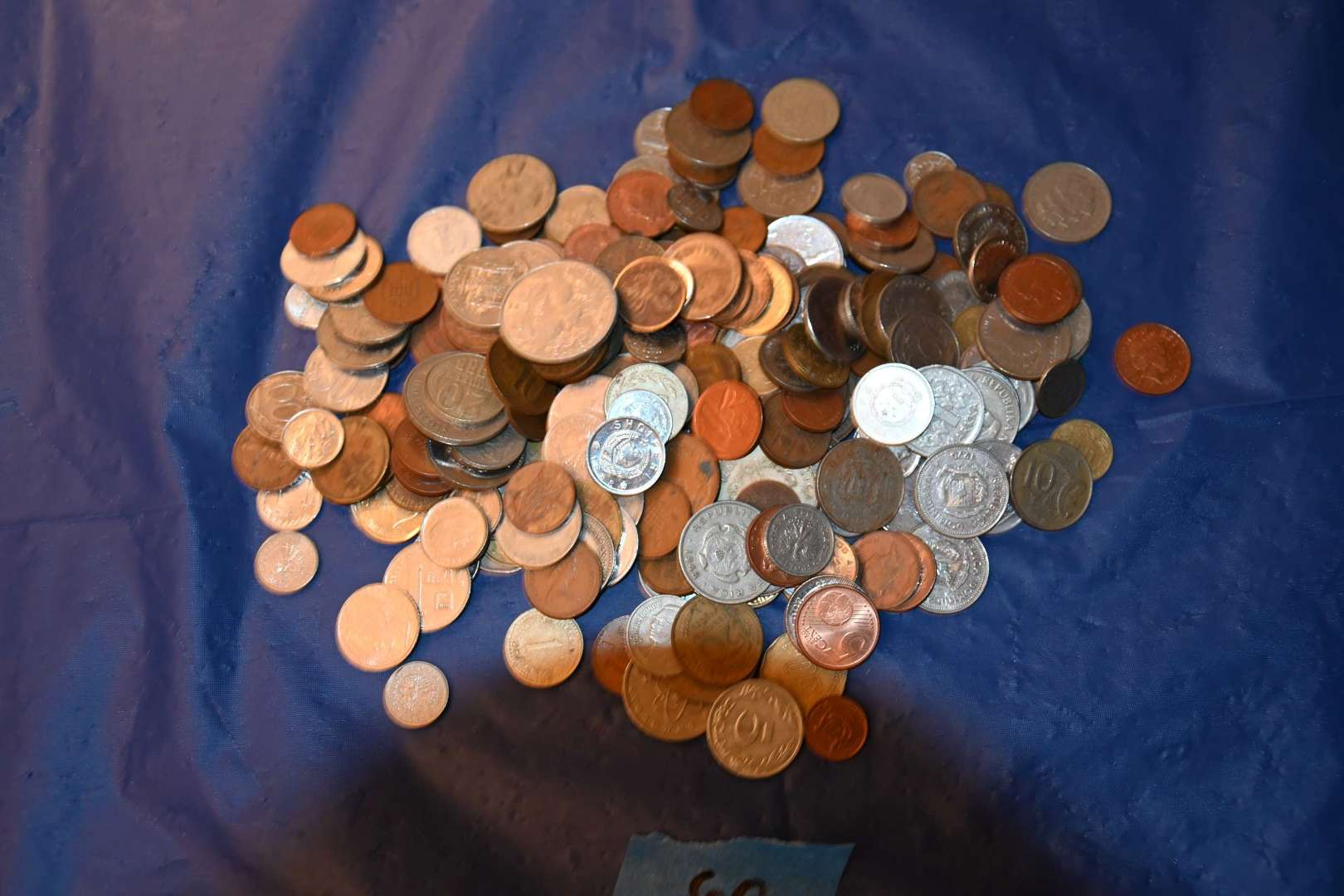 Lot # 60 Foreign coins lot just shy of 2 pounds
