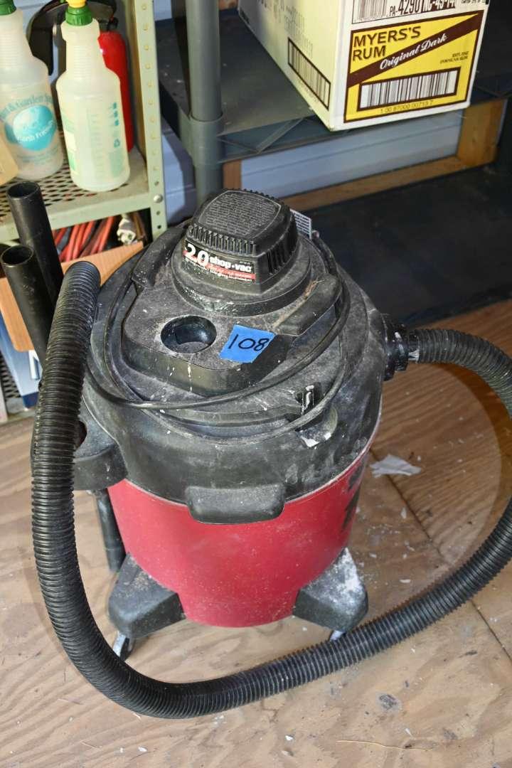 Lot # 108 SHOP-VAC wet/dry 10 gallon vacuum