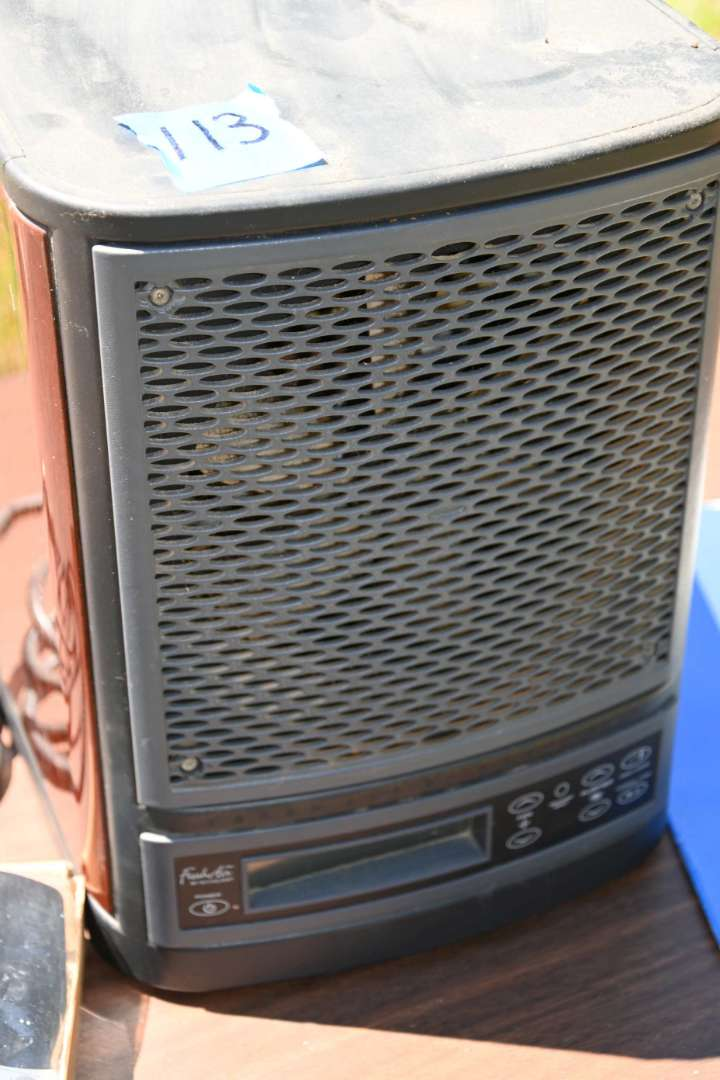Lot # 113 FRESH AIR 2.0 by ECOQUEST air purifier with remote