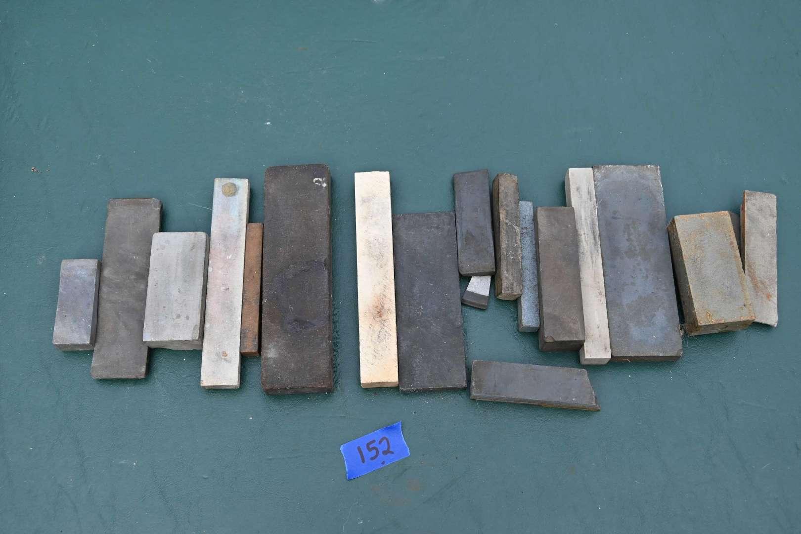 Lot # 152 Knife sharpener stones lot