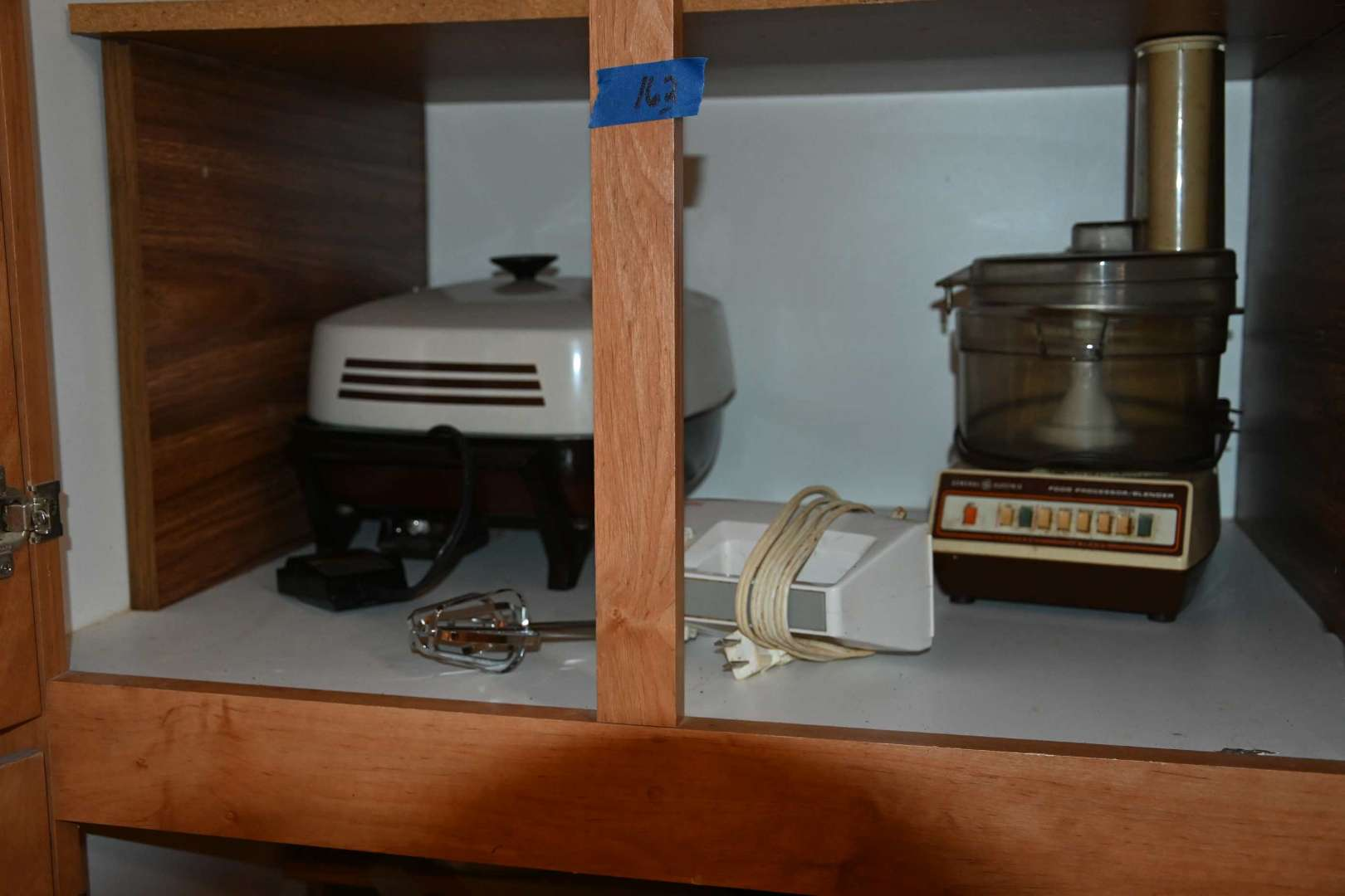 Lot # 162 Contents of top tall cabinet