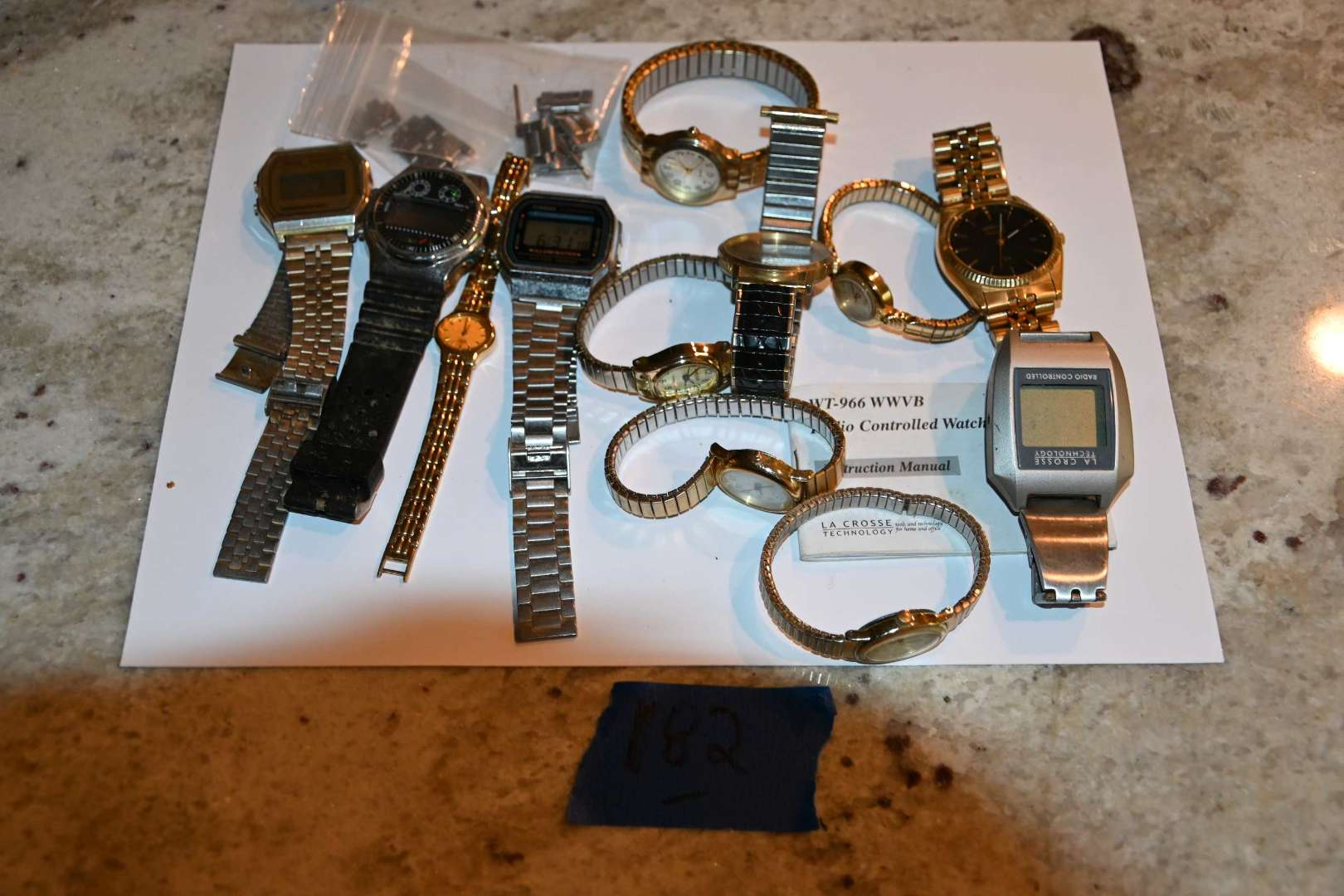 Lot # 182 WATCHES lot