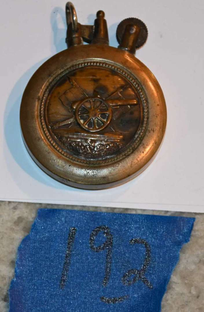 Lot # 192 1916 WW1 trench lighter