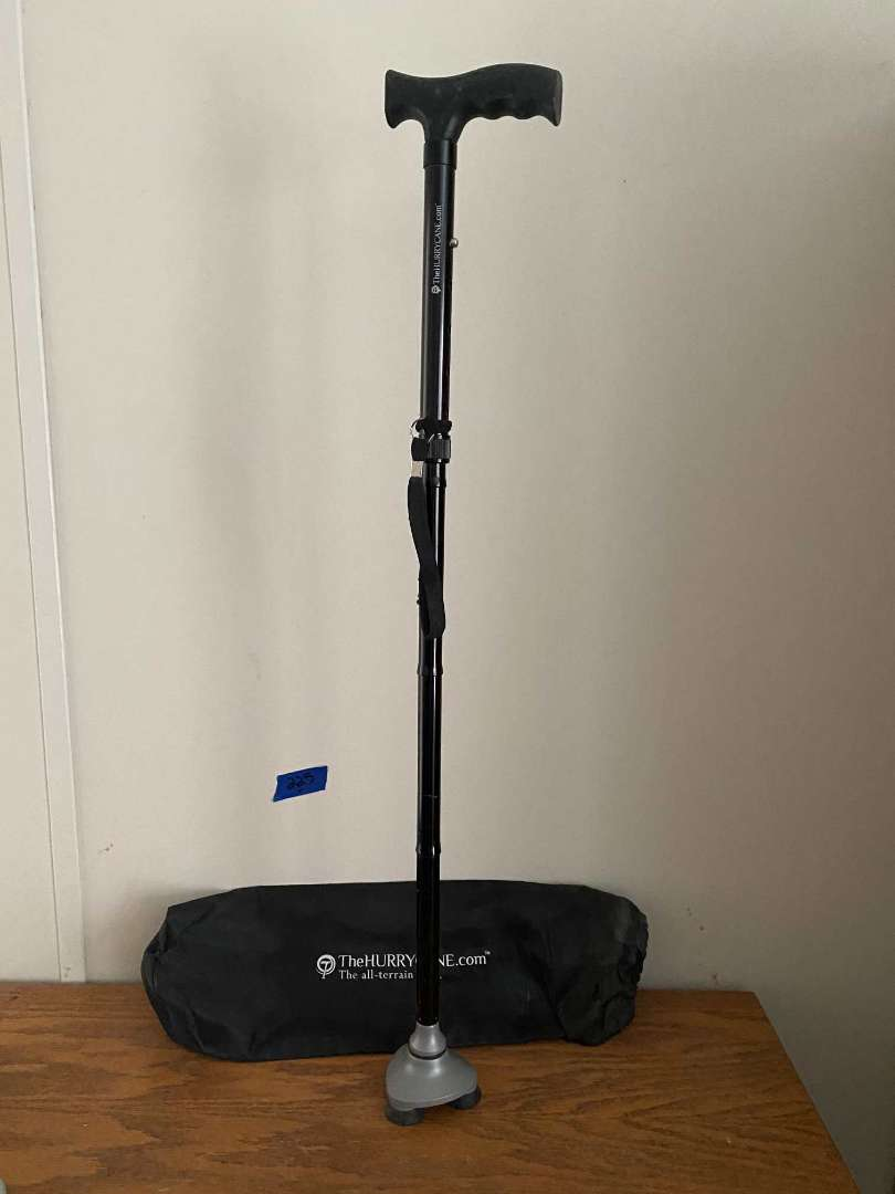 Lot # 225 HURRYCANE collapsible all terrain cane
