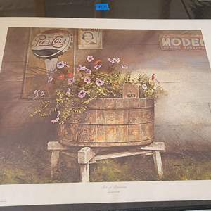 Auction Thumbnail for: Lot # 60 Lot of 2 Pretty Signed & Numbered Lithographs By Artists Finley & Ripple