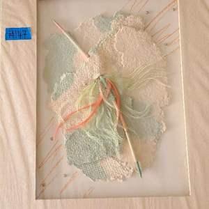 Auction Thumbnail for: Lot # 147 Pretty Multi-Medium Artwork