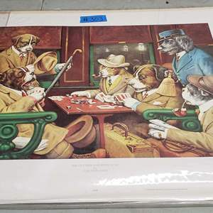 """Auction Thumbnail for: Lot # 303 """"His Station and Four Aces"""" Print By Artist C. M. Coolidge"""