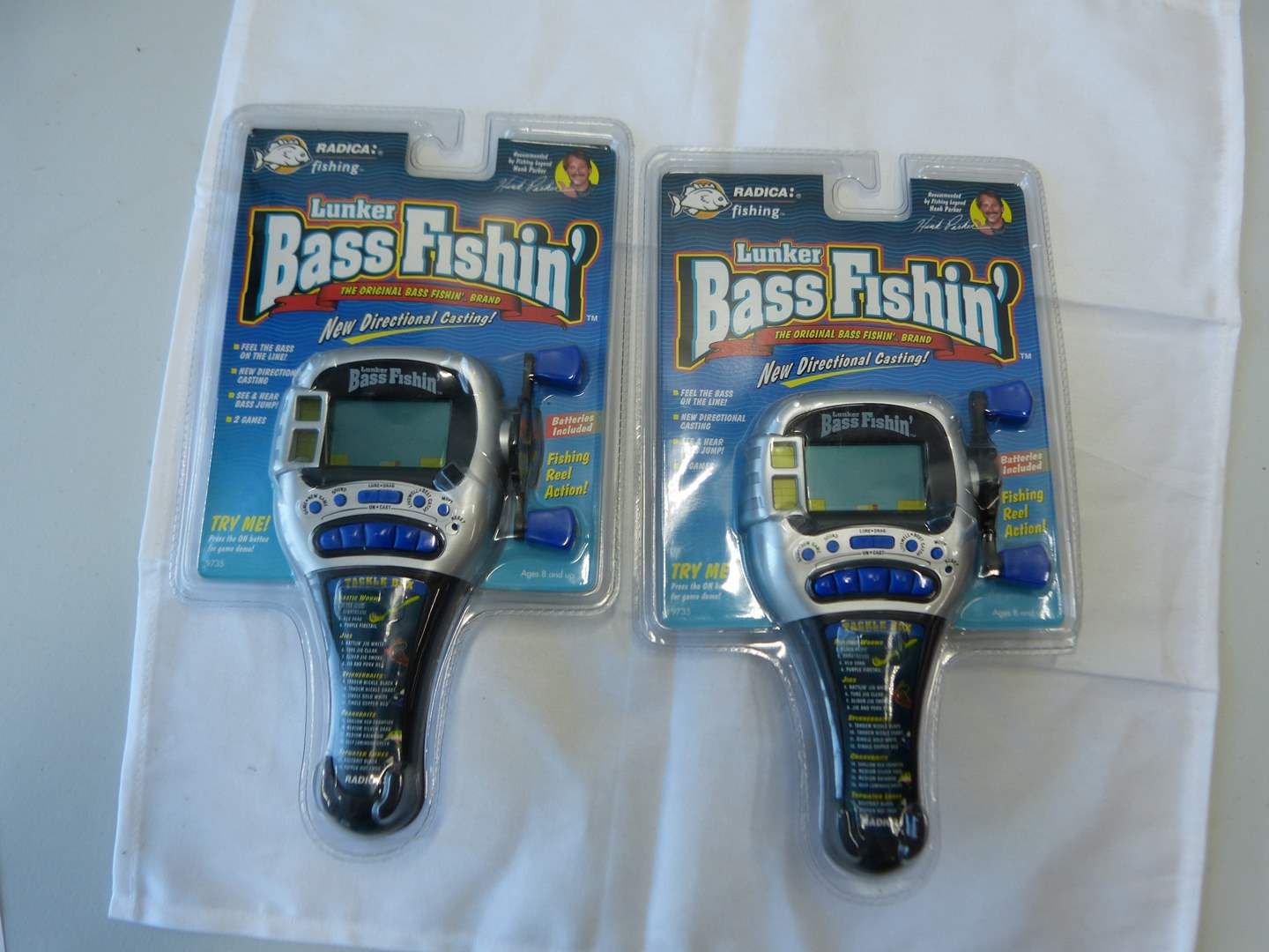 Lot # 84  2 NEW Lunker Bass video games (main image)