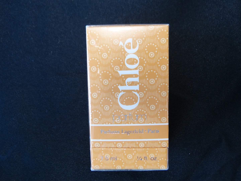 Lot # 89  7.5mm ounce Chloe perfume (new never opened) (main image)