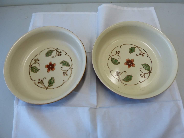 Lot # 95  2 large Phaltzgraff serving bowls (main image)