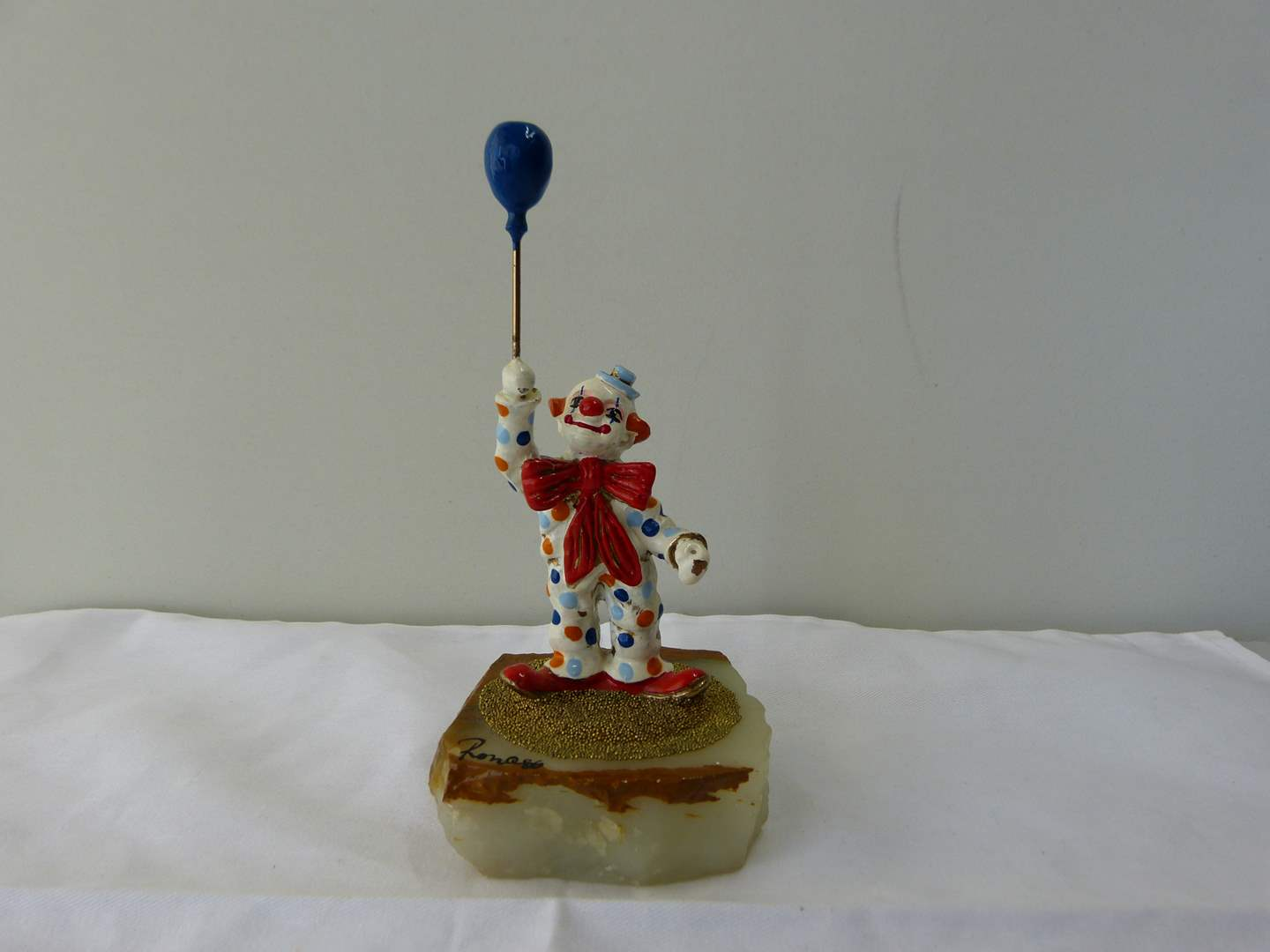 """Lot # 135  Vintage """"RON"""" 1986 clown (highly collectible) (main image)"""