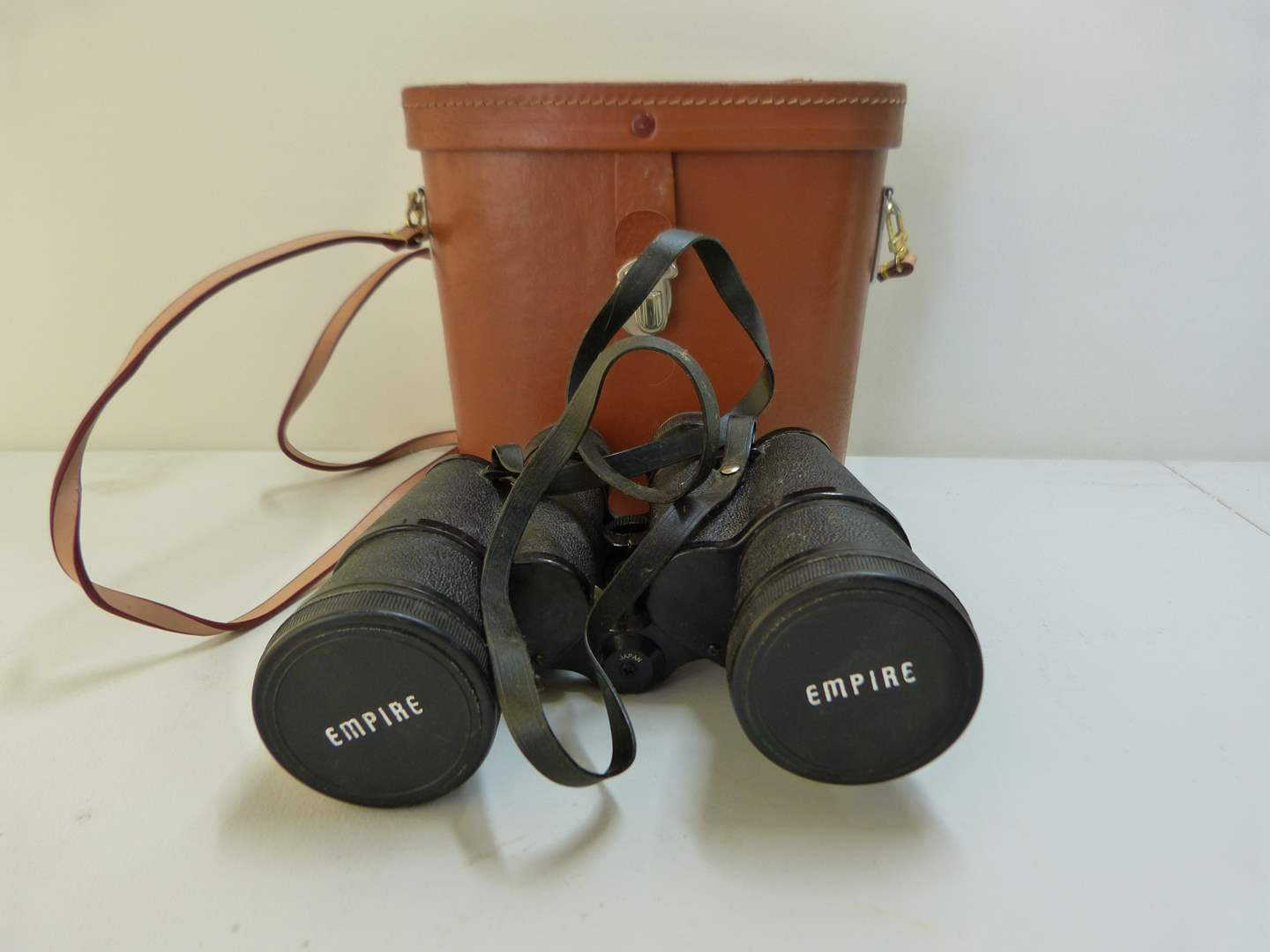Lot # 146  Empire 7/50 binoculars w/case (great optics-needs a good cleaning) (main image)