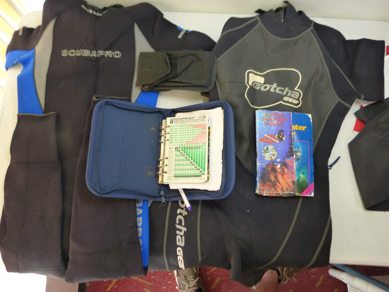 Lot # 147  Gotcha & scuba pro diving gear (main image)