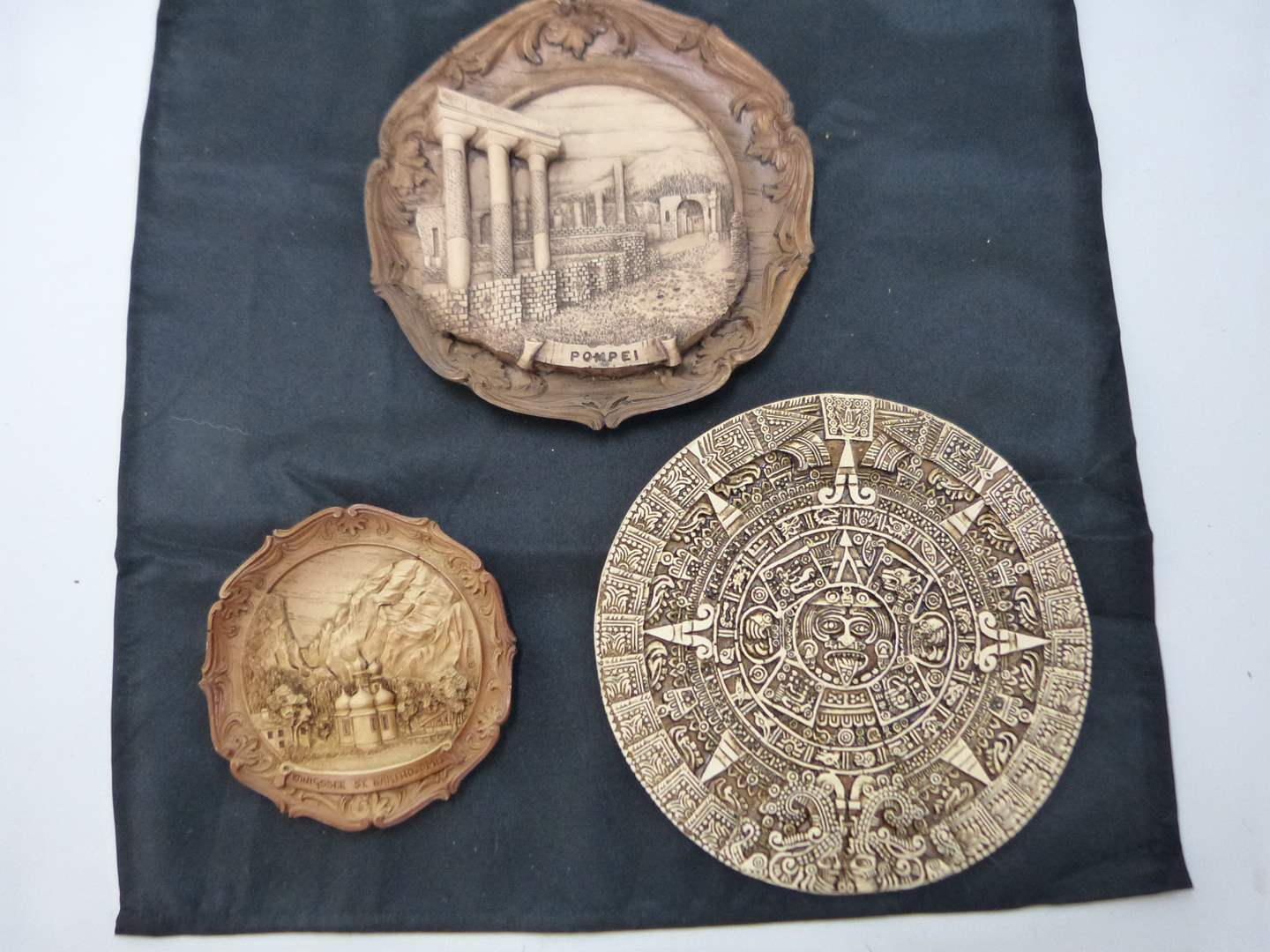 Lot # 189  3 Great Germany travel (wood style) wall decor (main image)