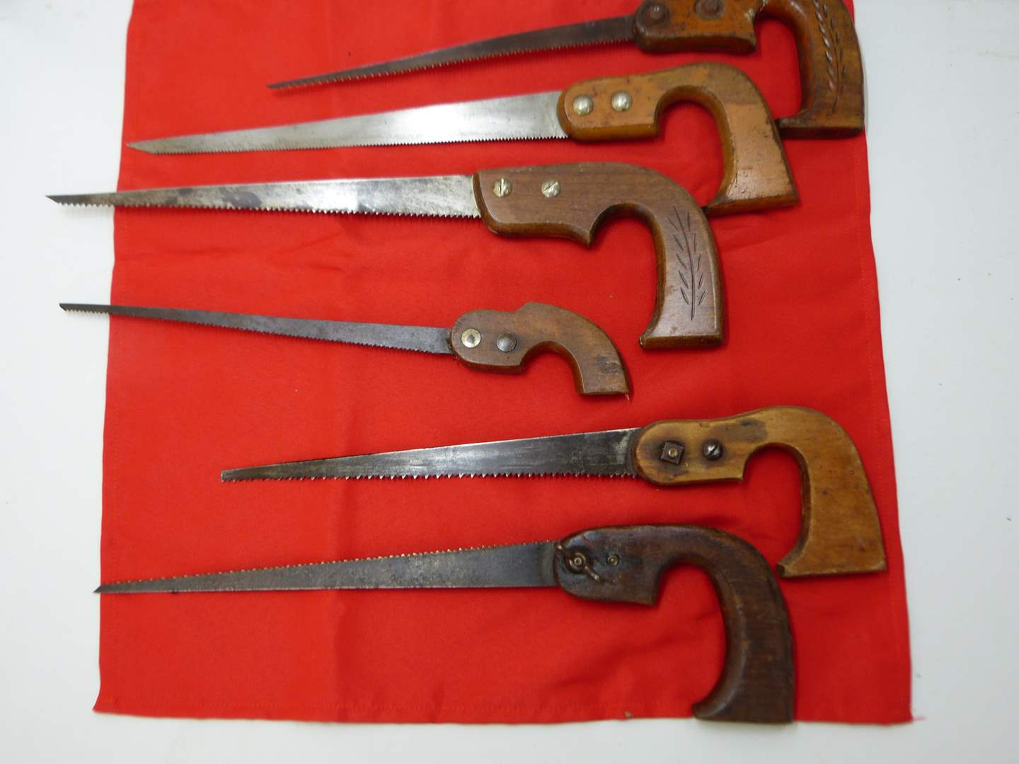 Lot # 194  Collection of vintage saws (main image)