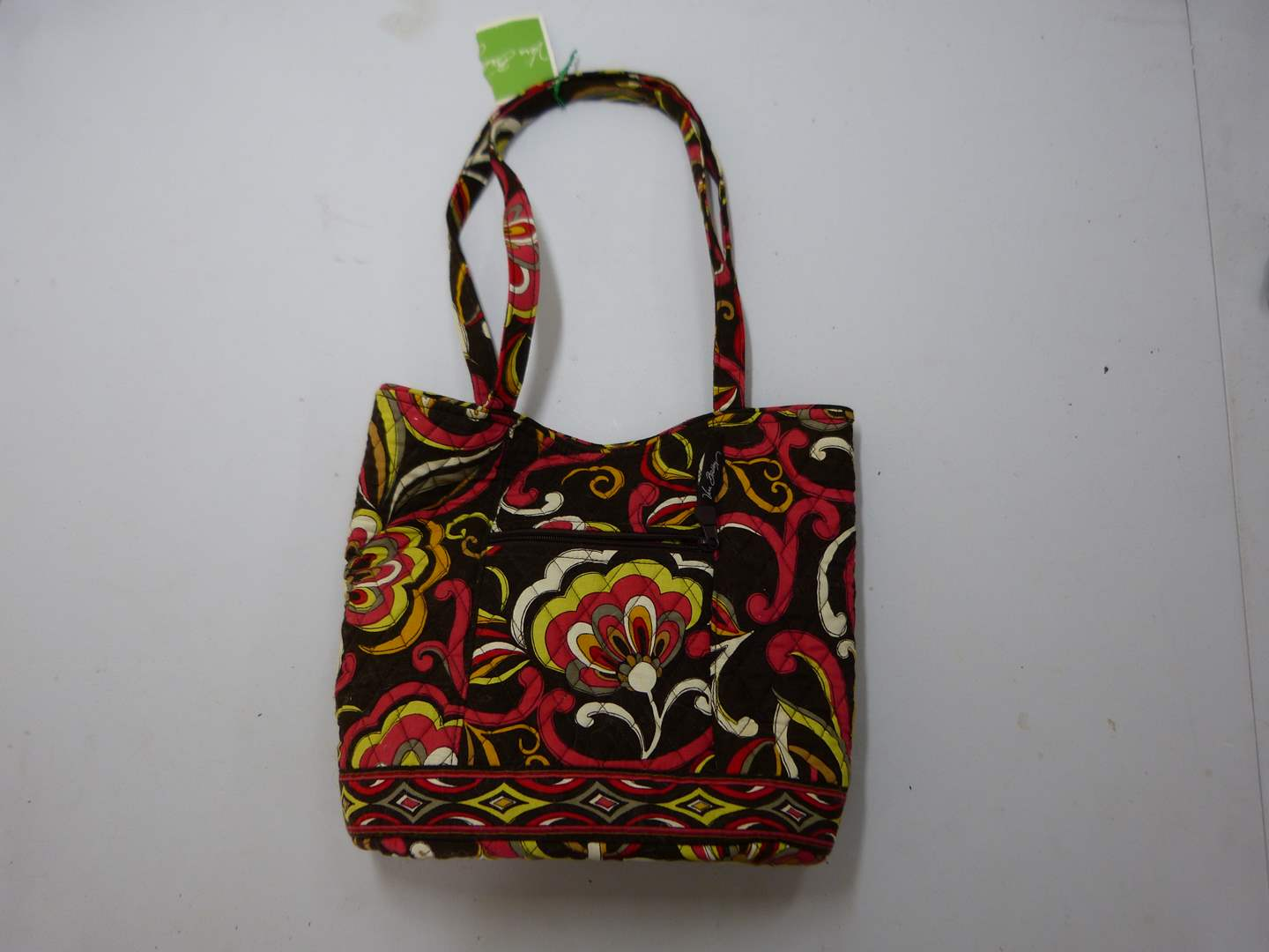 Lot # 201  New Vera Bradley purse with accessories  (main image)