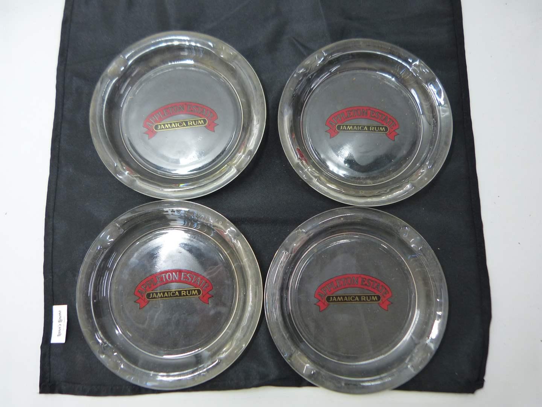 Lot # 217  4 Appleton Jamaican Rum point of sale ashtrays  (main image)