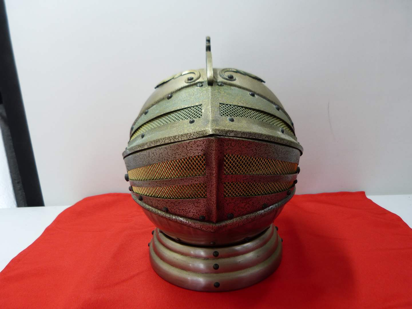 Lot # 223  Mid Century Modern helmet bar complete (needs a good cleaning) (main image)