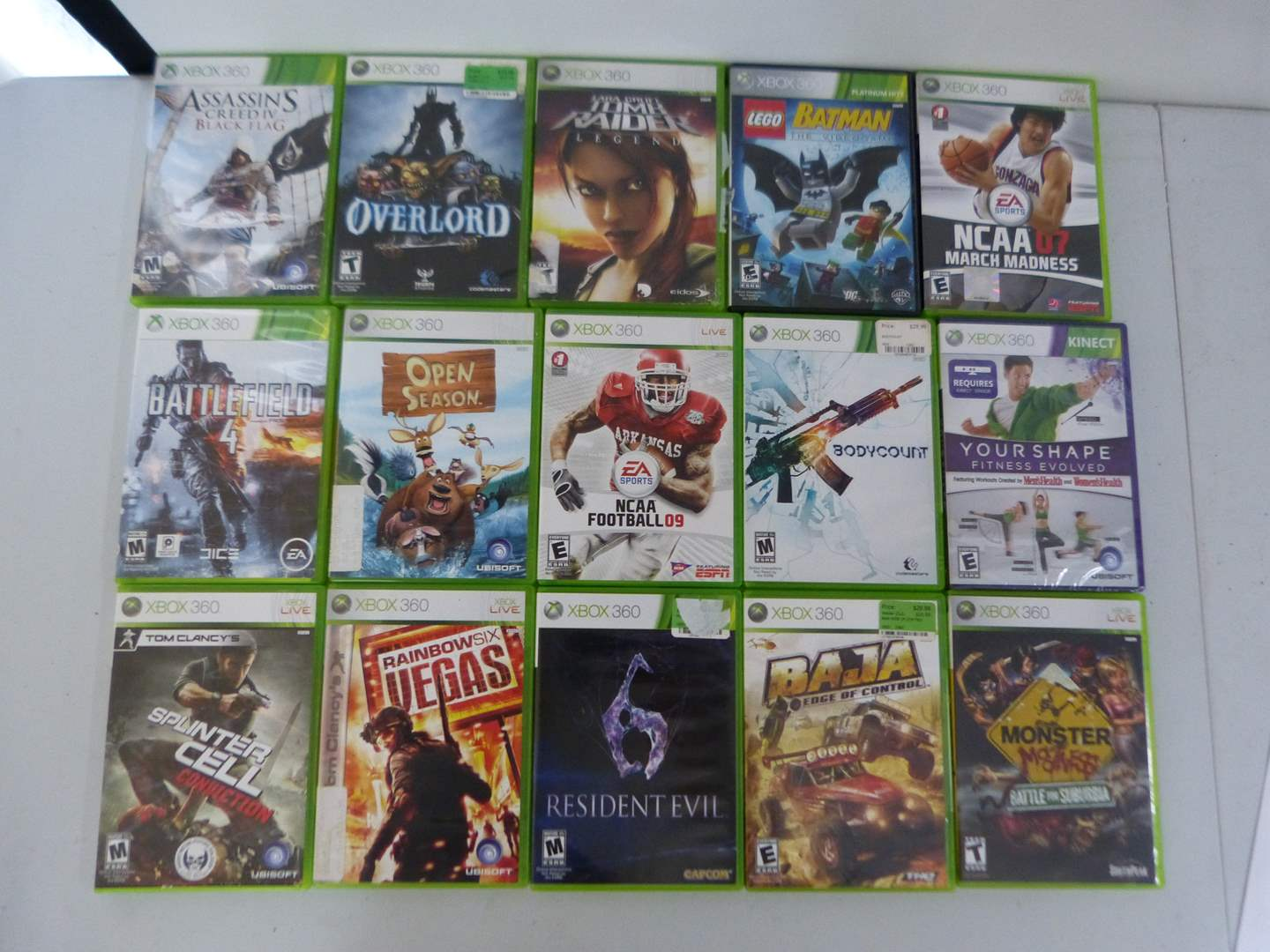 Lot # 226  Large collection Xbox 360 video games (main image)