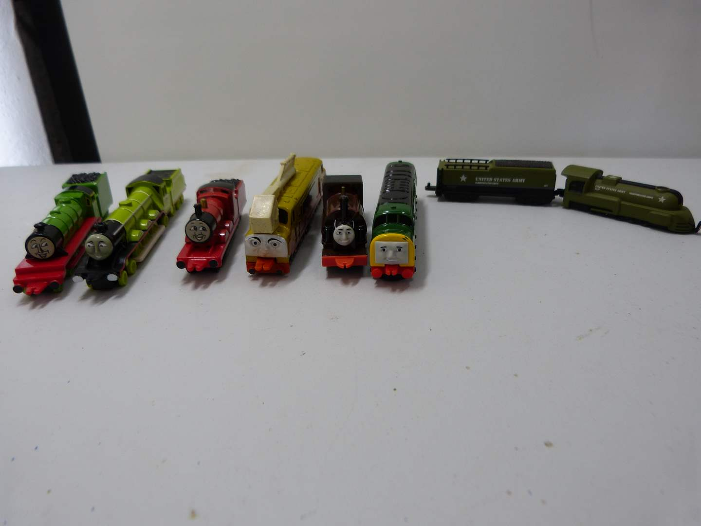 Lot # 228  Great collection of die cast Thomas the Train trains (main image)