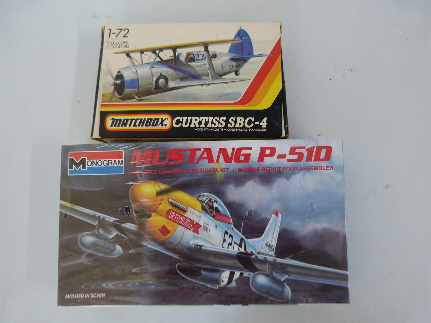 Lot # 257  Collection of NEW model airplanes (main image)