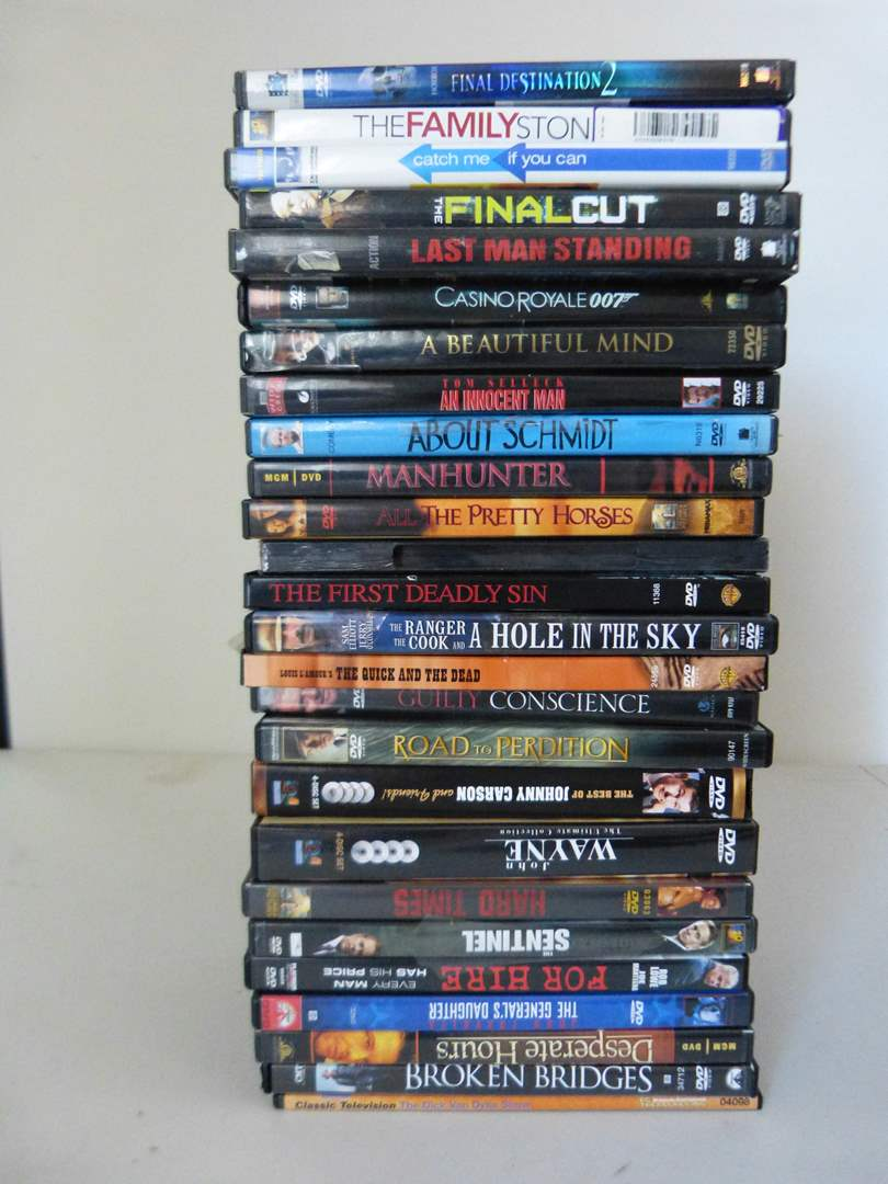 Lot # 259  Large collection of DVD's (main image)