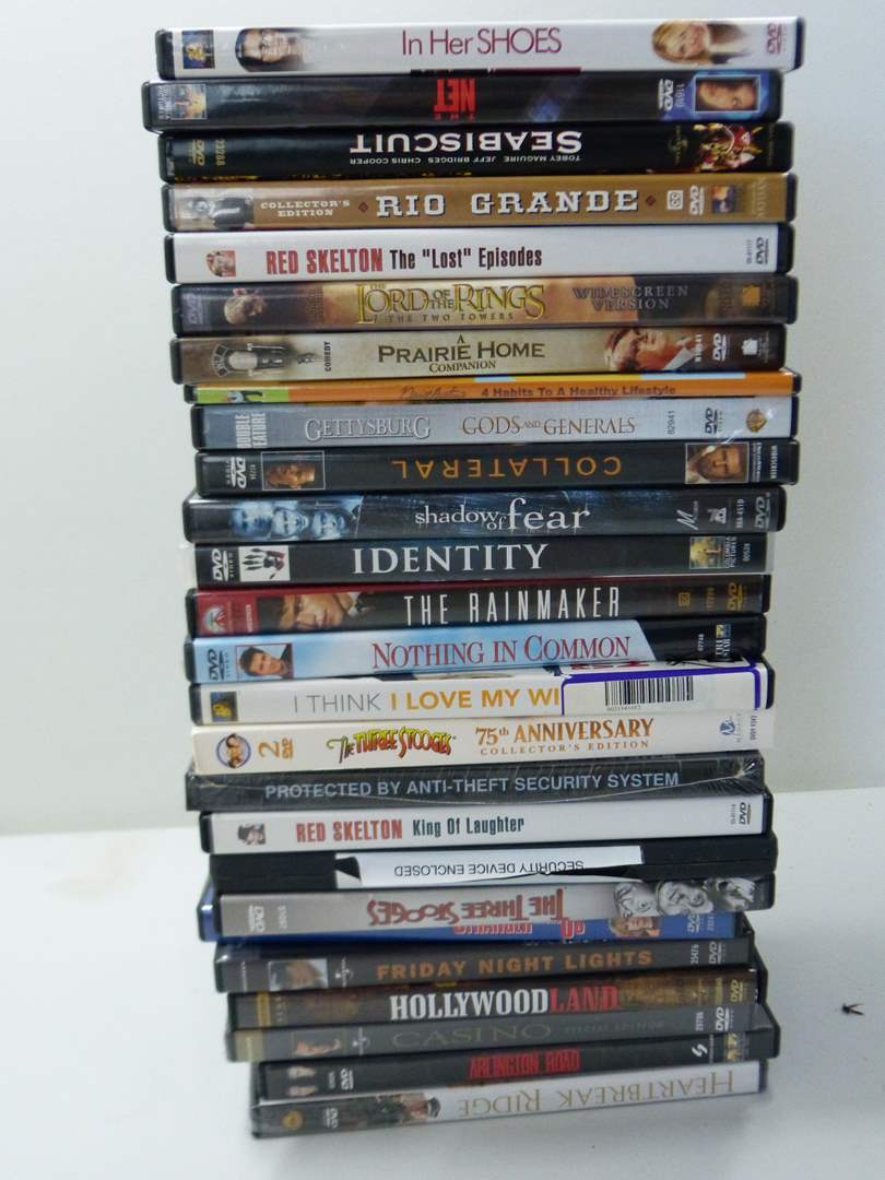 Lot # 260  Large collection of DVD's (main image)