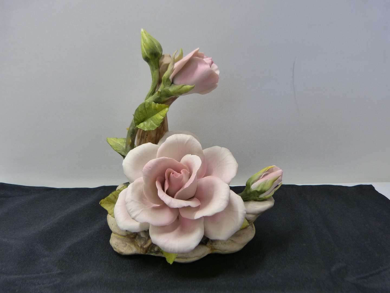 Lot # 264  Beautiful porcelain flower  (excellent condition) (main image)