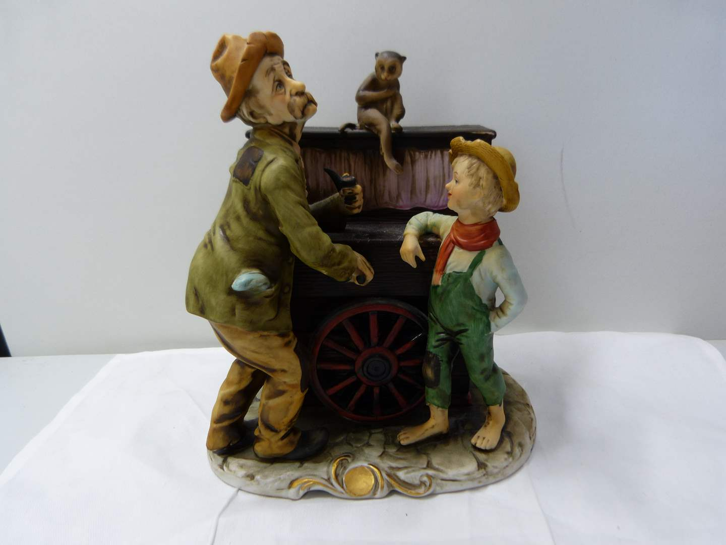 Lot # 269  Great made in Italy whimsical working music box  (main image)