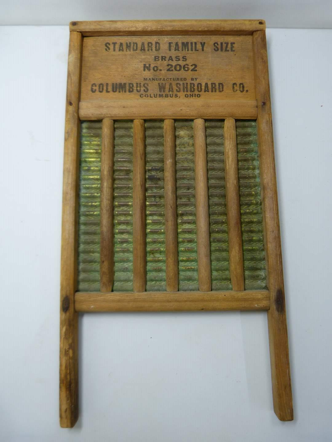 Lot # 272  Vintage Maid-Well double sided washboard (main image)