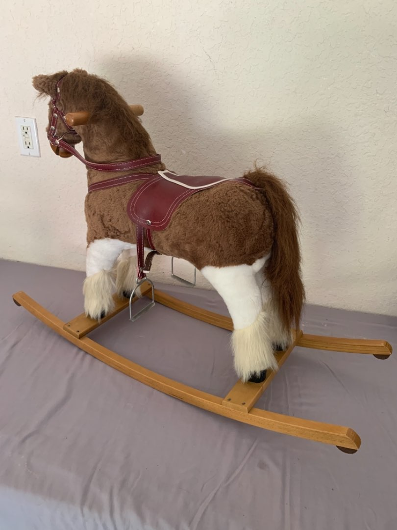 Lot # 4 Really Clean High Quality Rocking Horse. See Below