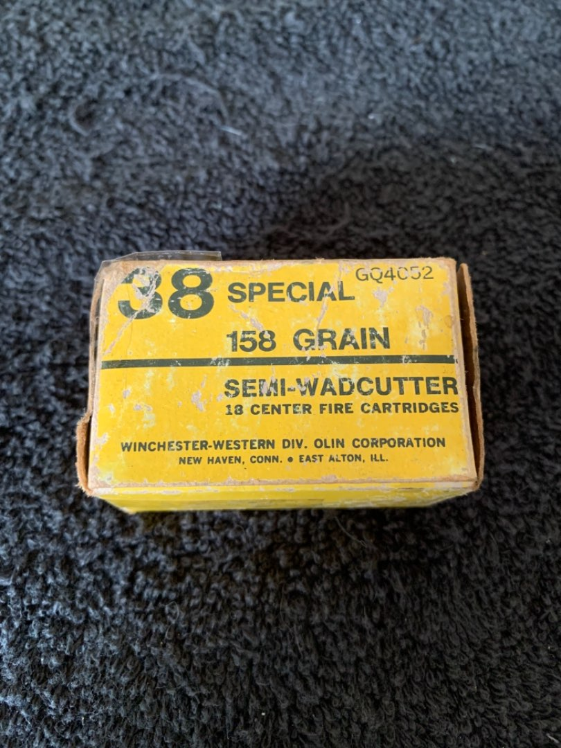 Lot # 121  Winchester 38 Special. Full Box