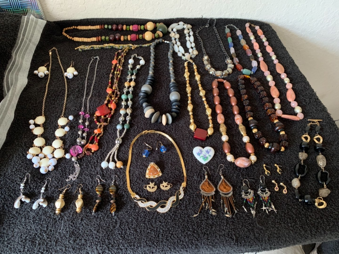 Lot # 123 Another Huge Lot Assorted All Wearable Jewelry