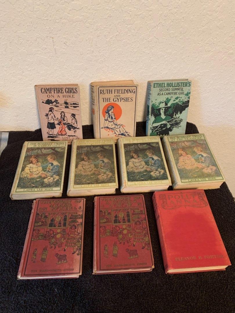 Lot # 156 Lot Of Vintage Books. Bobbsey Twins, Campfire Girls, Etc. 1913-1920