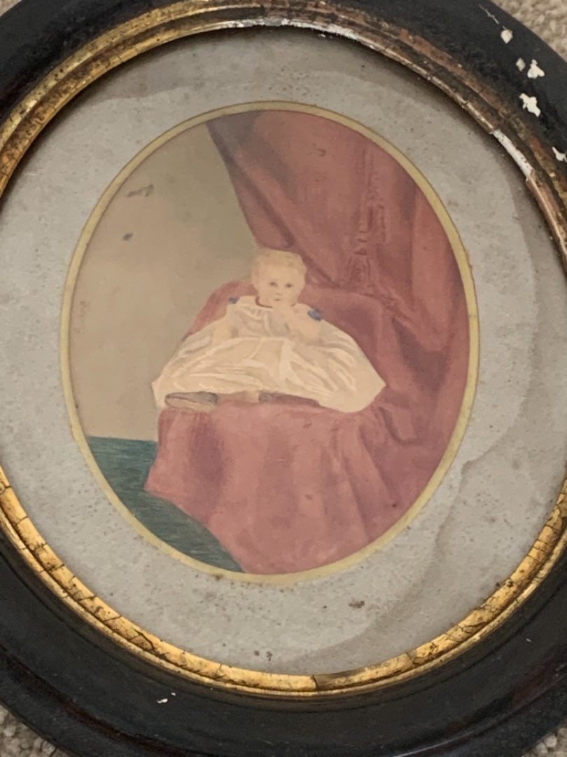 Lot # 169   MUST SEE! WOW! Incredible Young Girl Attributed To William Matthew Prior 1806-1873. See Below