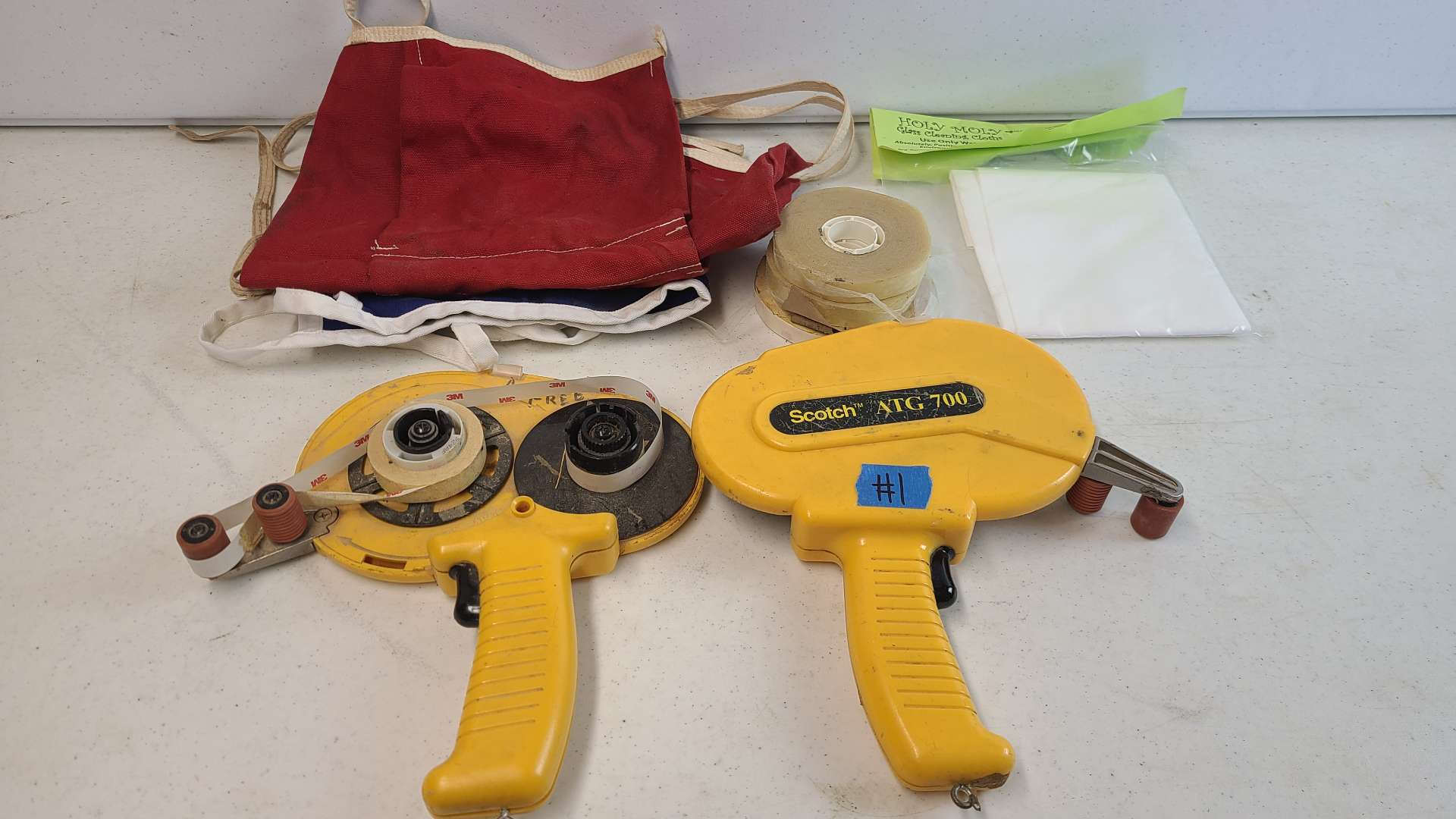 Lot # 1 Lot of 2 Tape Tools & More