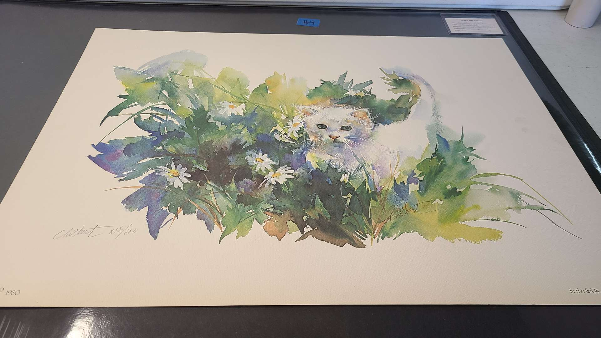 Lot # 9 Lot of 2 Animal Inspired Signed & Numbered Lithographs