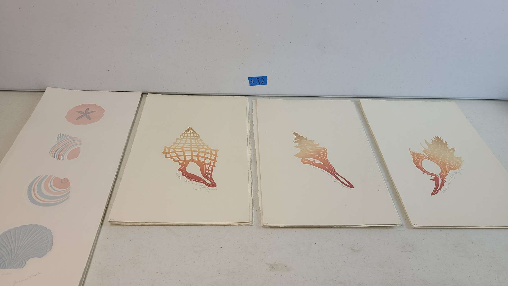 Lot # 32 Lot of 4 Signed & Numbered Lithographs