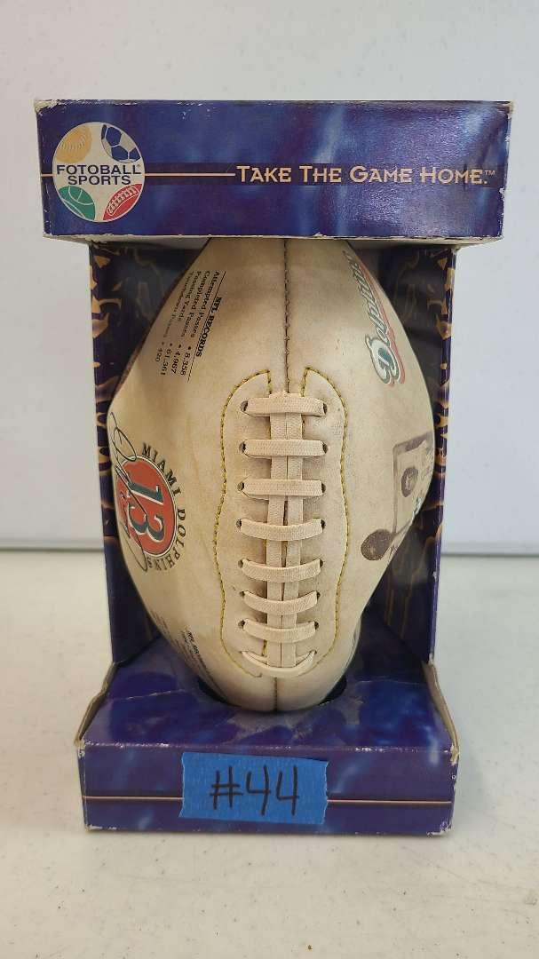 Lot # 44 Miami Dolphins Football