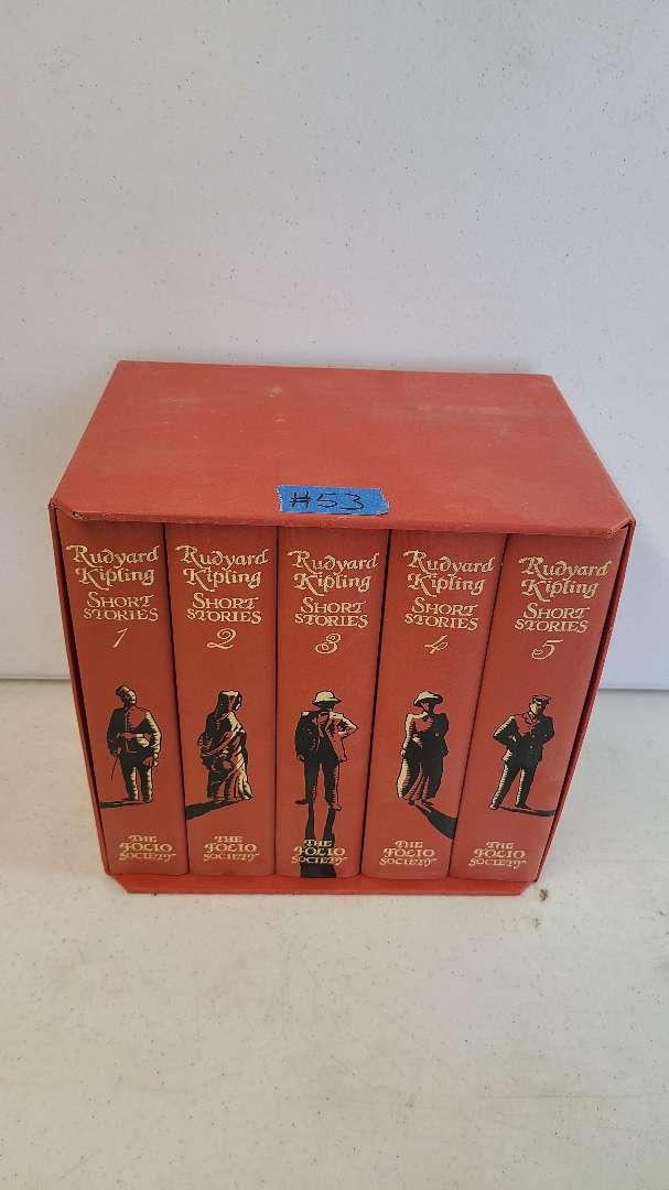 Lot # 53 Rudyard Kipling Book Series