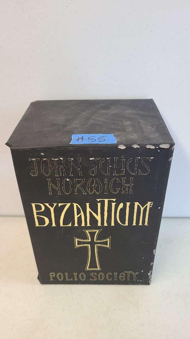 "Lot # 55 John Norwigh ""Byzantium"" Book Series"