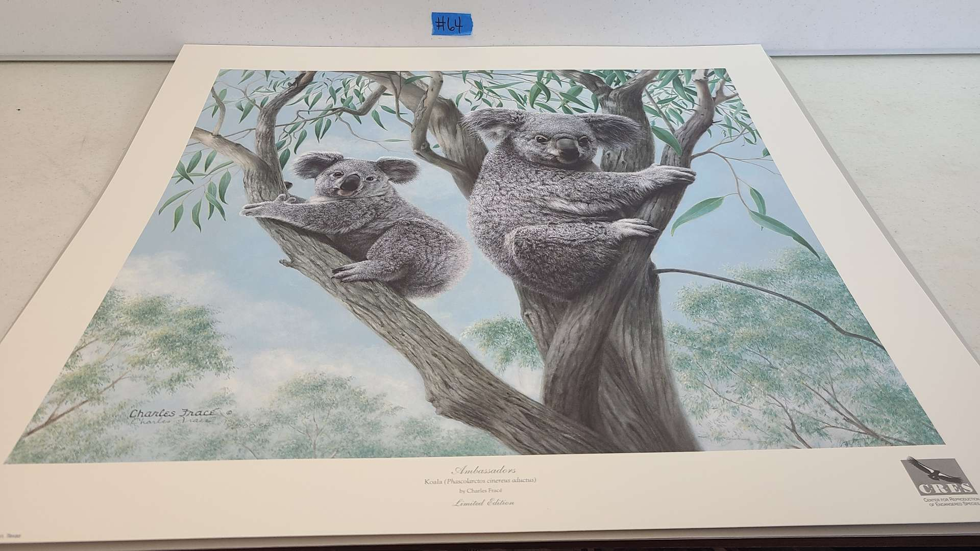 """Lot # 64 Stunning Charles Frace Limited Edition Print """"Ambassadors""""-Signed & Numbered"""