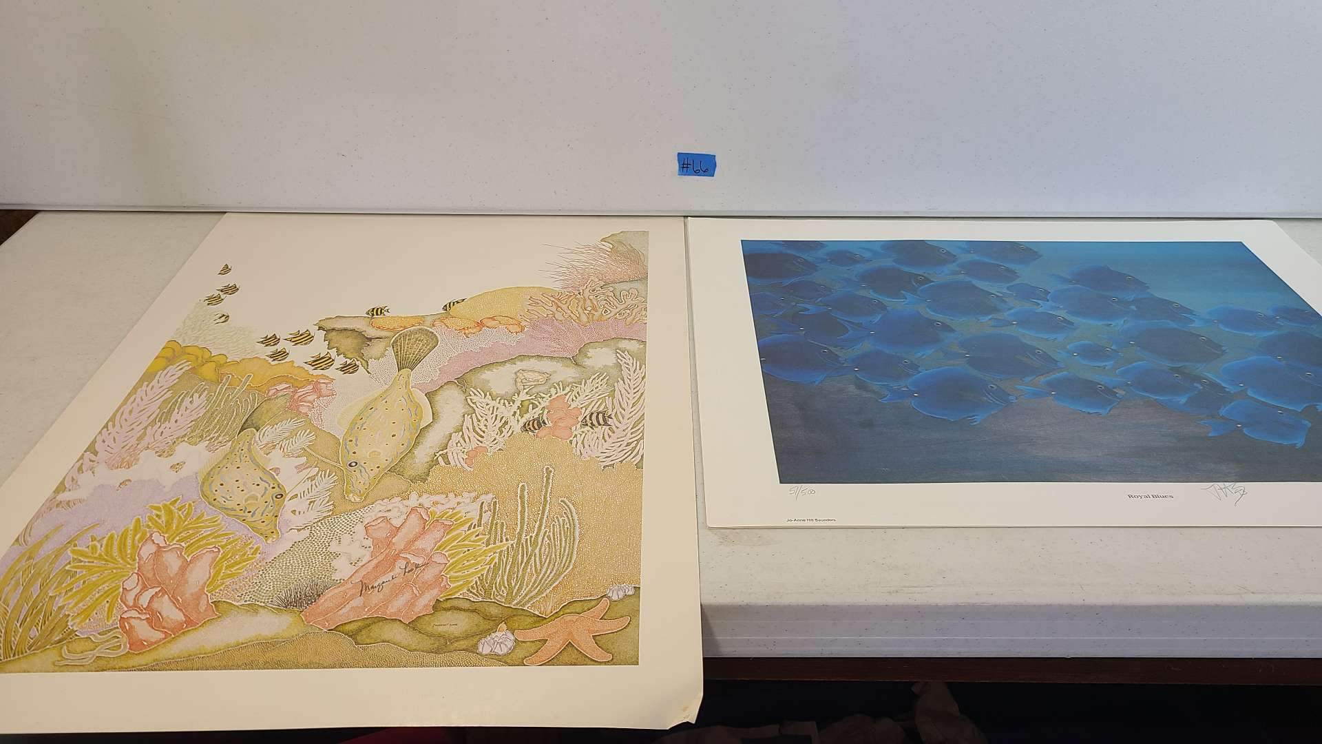 Lot # 66 Lot of 4 Gorgeous Ocean & Sailboat Themed Lithographs