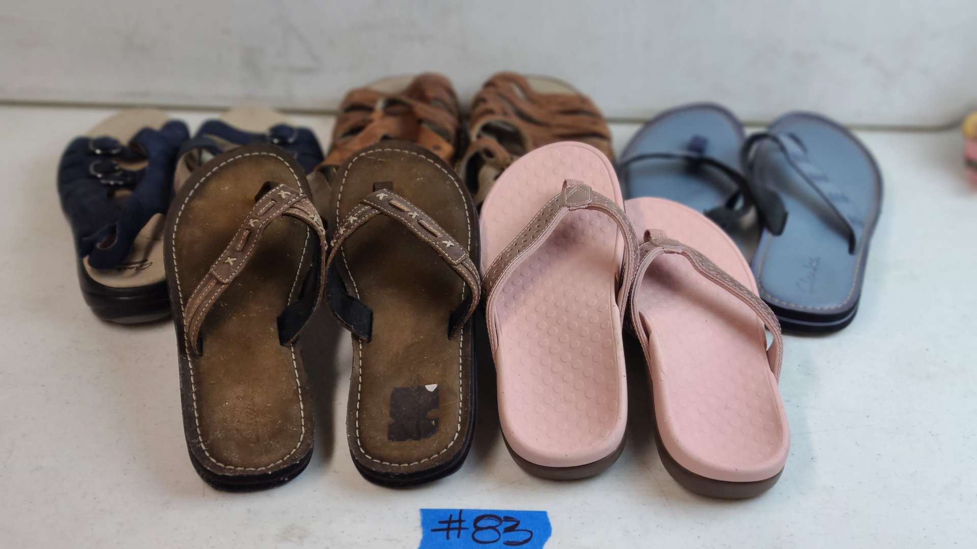 Lot # 83 Lot of Various Womens Footwear (Size 8)