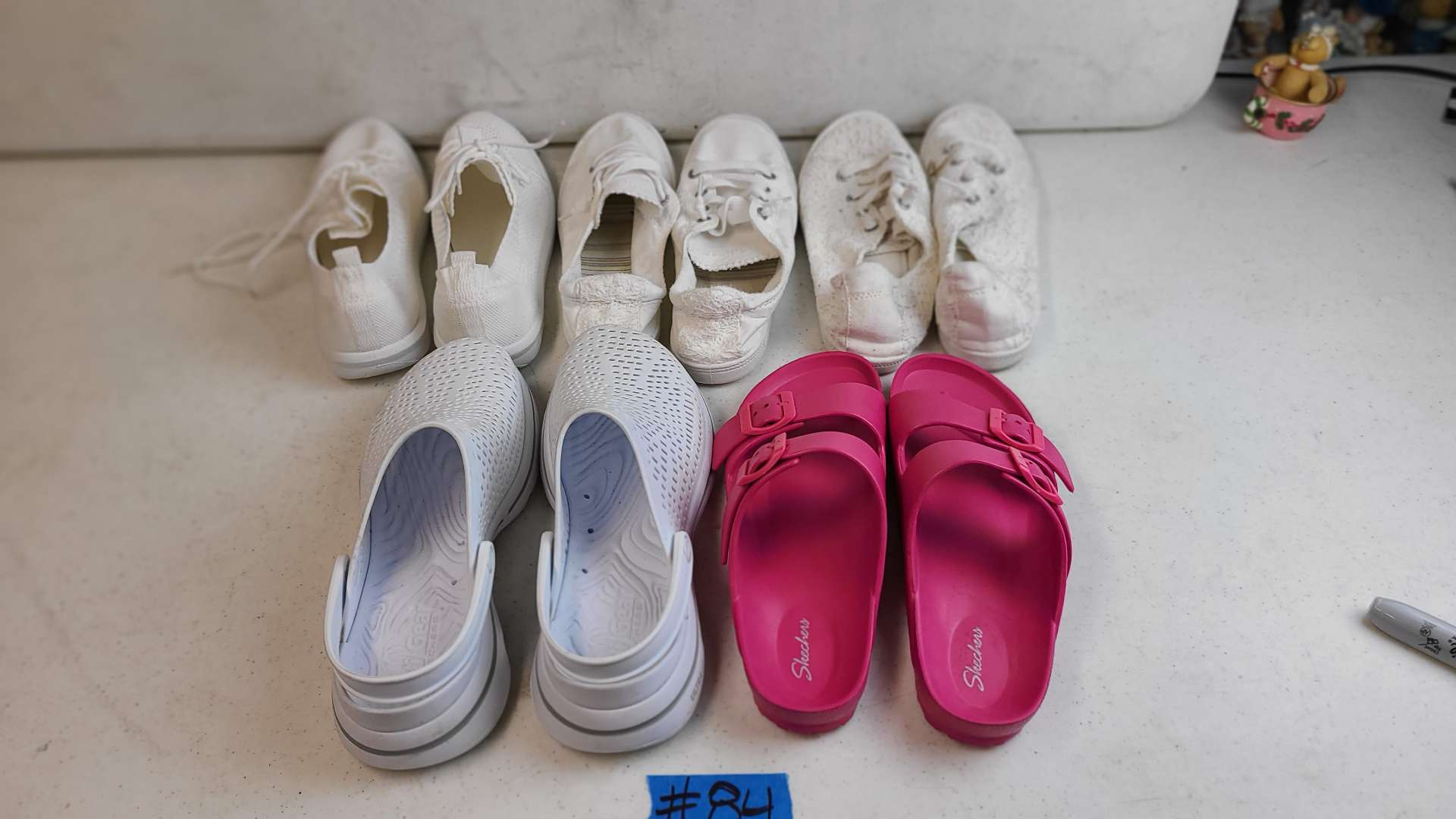 Lot # 84 Lot of Various Womens Footwear (Size 8-8 1/2)